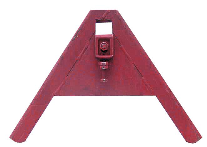Trojúhelníkový mezirám ze standardního U-profilu komunální