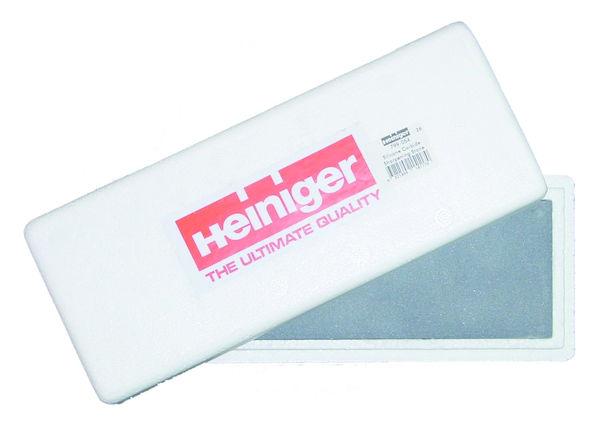 Kámen Heiniger na kontrolu správného nabroušení nožů a hřebenů