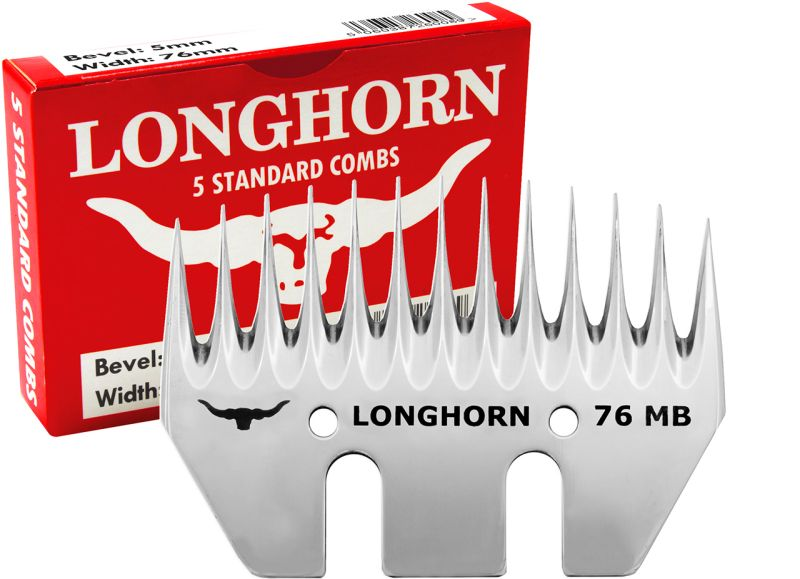 Spodní nůž Longhorn Standard 5/76 na stříhání ovcí a dobytka