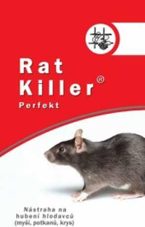 Požerová nástraha na likvidaci myší, potkanů a krys Rat Killer 150g