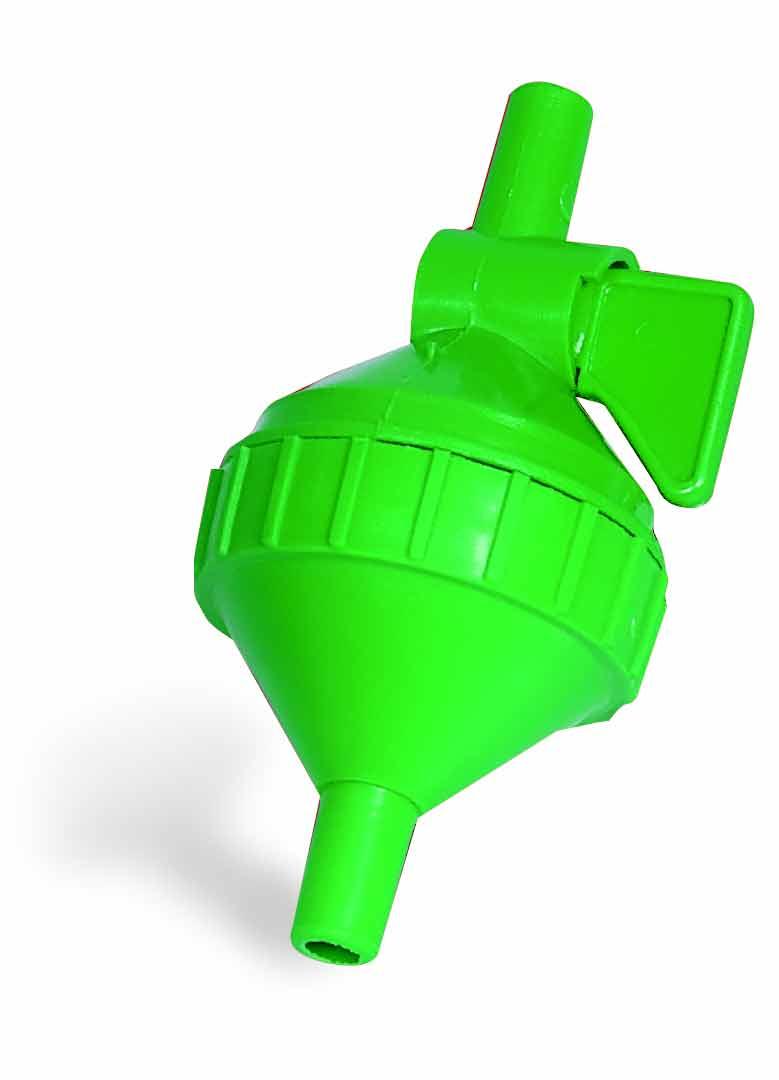 Filtr pro niplové hadičkové napájecí systémy s kohoutkem