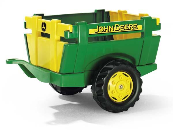 Rolly Toys - farmářský zelenožlutý přívěs John Deere