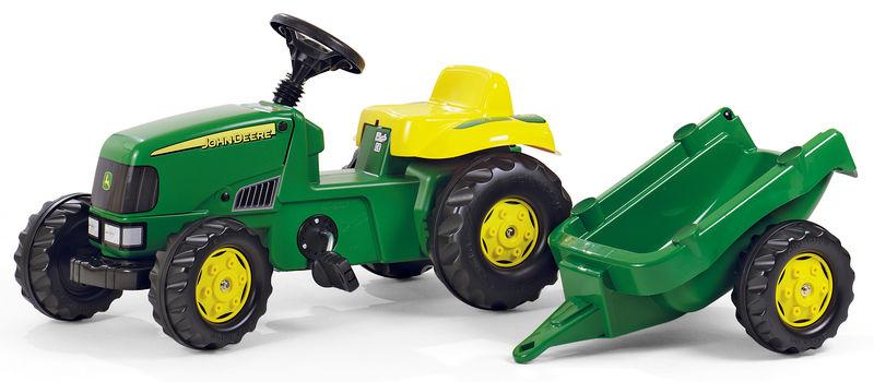 Rolly Toys - šlapací traktor John Deere s přívěsem modelová řada Rolly Kid