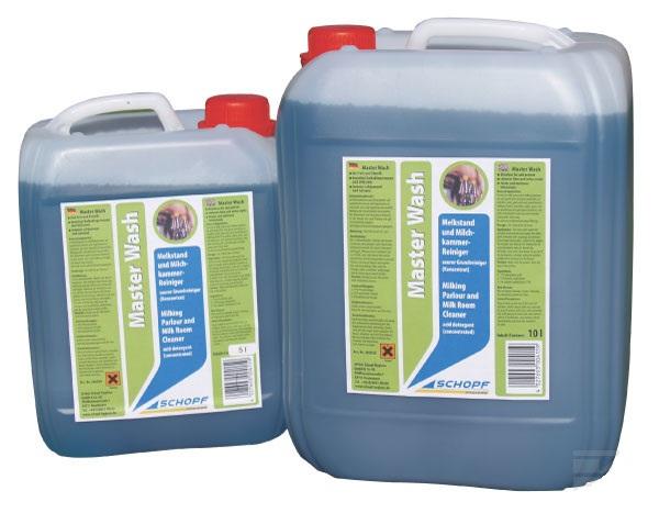 Master Wash čistící koncentrát pro mlékárenský a zemědělský průmysl 10 l