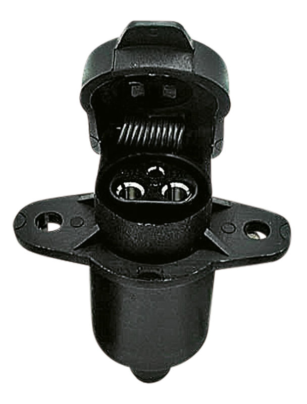 Zásuvka 3-pólová 12V/25A z umělé hmoty