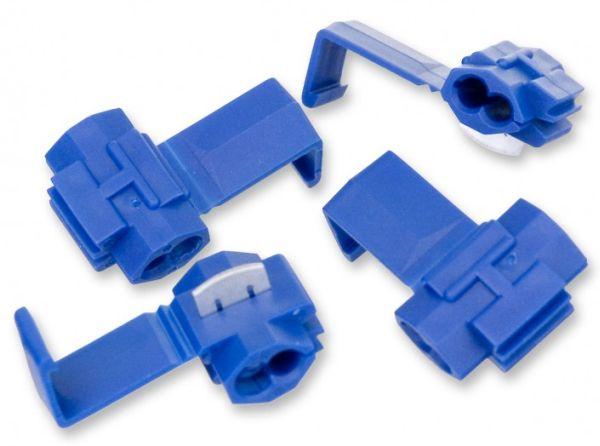 Zářezové konektory na spojování anténního drátu pro elektronický ohradník 4 ks