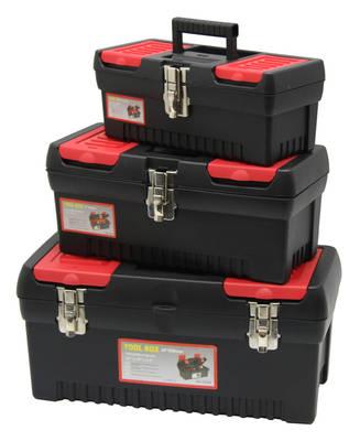 Kufříky na nářadí 3 různé velikosti