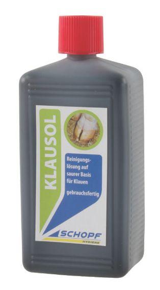 Čistící roztok na paznehty na kyselé bázi KLAUSOL 1000 ml