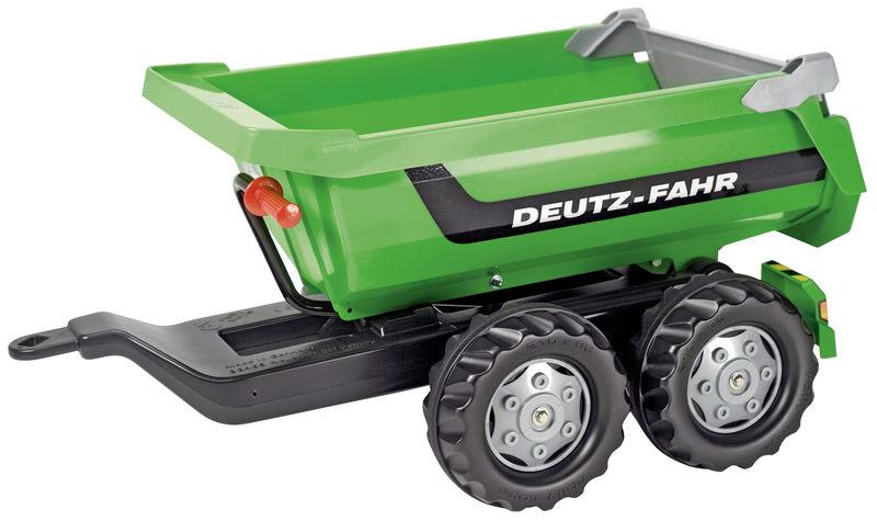 Rolly Toys - sklápěcí přívěs Deutz-Fahr za šlapací traktory a nakladače