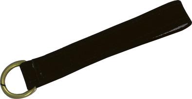 Odepínaci očko pro martingal EXCELSIOR kožené černé