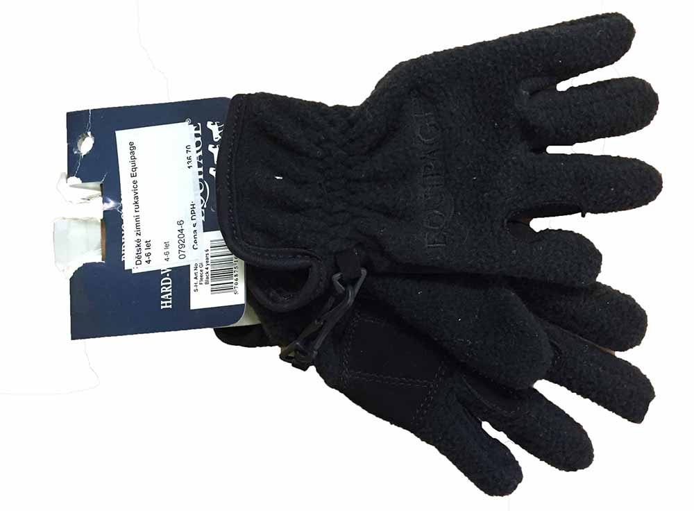 Dětské zimní rukavice Equipage 4-6 let