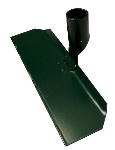 Hrablo na hnůj plechové šíře 330 mm