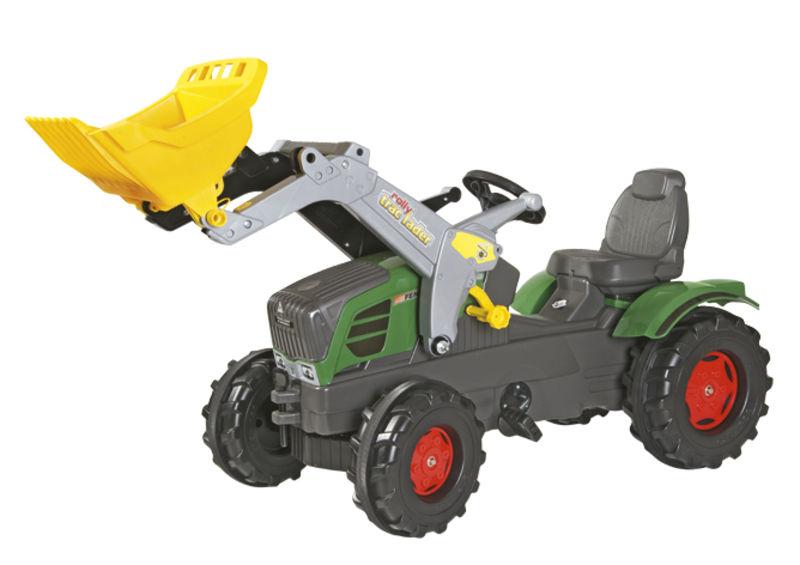 Rolly Toys - šlapací traktor s čelním nakladačem Fendt 211 Vario Rolly FarmTrac