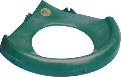 Ochranné víko OK PLAST pro 16 l rohový žlab pro koně