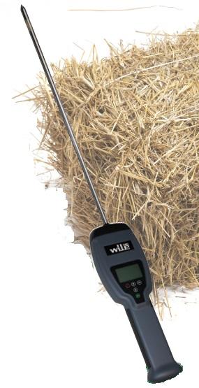 Wile 500 tyčový vlhkoměr a teploměr pro lisovanou senáž, seno a slámu