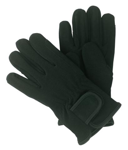 Jezdecké rukavice HighTech barva černá velikost M