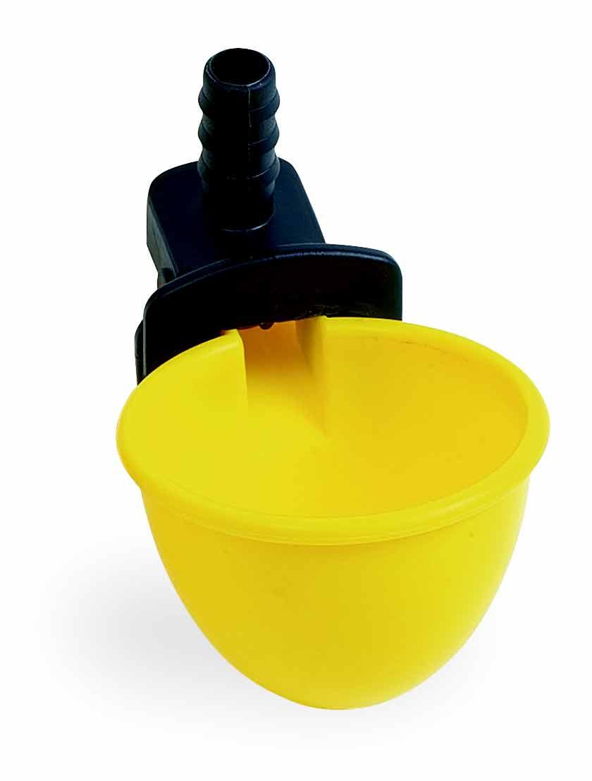 Hadičková napáječka automatická C-50 pro křepelky, ptactvo a malá zvířata vpusť 10 mm