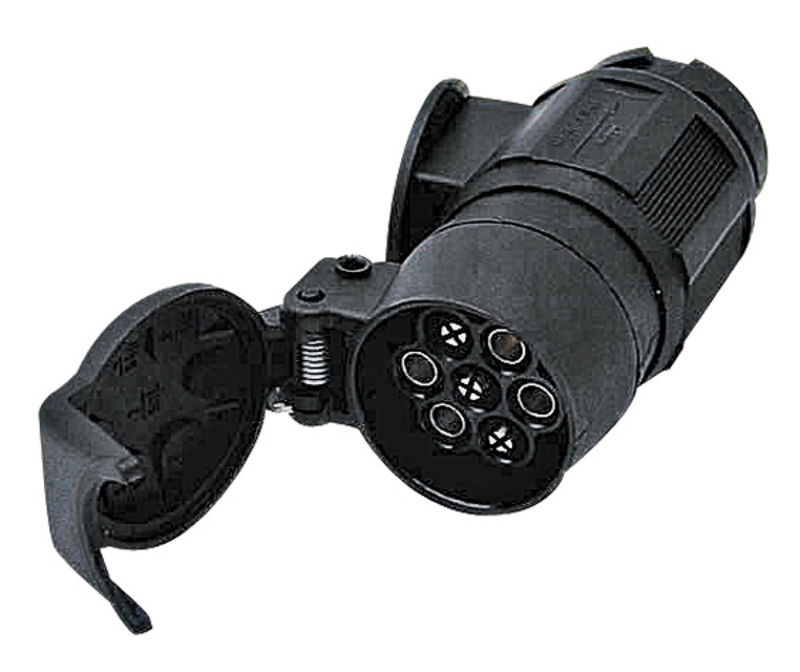 Adaptér 12V ke spojení 13-pólové zásuvky a 7-pólového konektoru s krytem