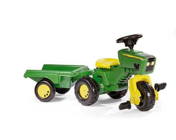 Rolly Toys - šlapací tříkolka traktor John Deere Trac