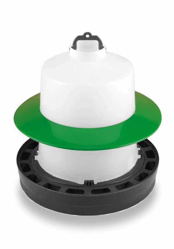 Ochranný kruh na kloboukové napáječky Gaun