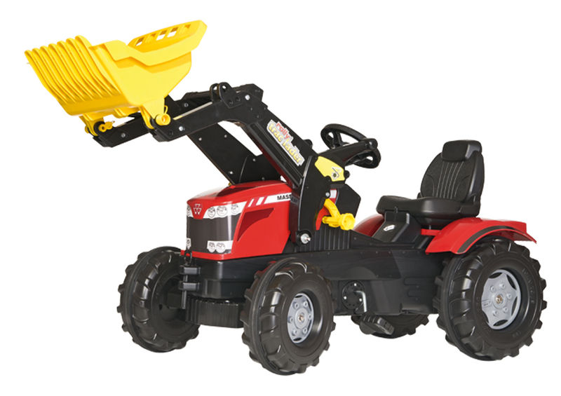Rolly Toys - šlapací traktor MF 8650 s čelním nakladačem modelová řada Rolly FarmTrac