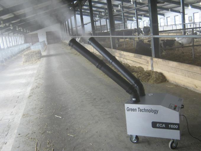 Ultrazvukový generátor dezinfekční mlhy ECA 1600 mlžič pro prostory do 2000 m3