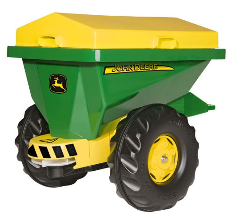 Rolly Toys - sklápěcí přívěs na stelivo John Deere za šlapací traktory a nakladače