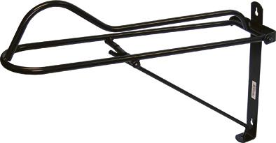 Držák sedla Standard opačný sklopný černý