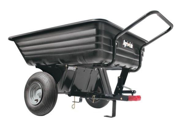 Přívěs, ruční i přívěsný vozík Agri-Fab dvoukolový za zahradní traktor nosnost 160 kg