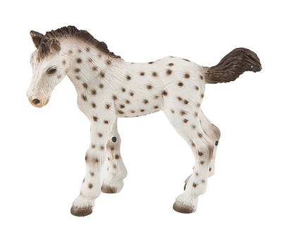 Bullyland - figurka knabstrupské hříbě
