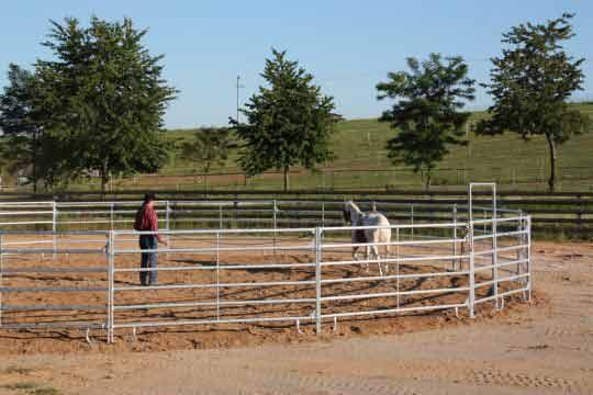 Ohradní panely pro koně
