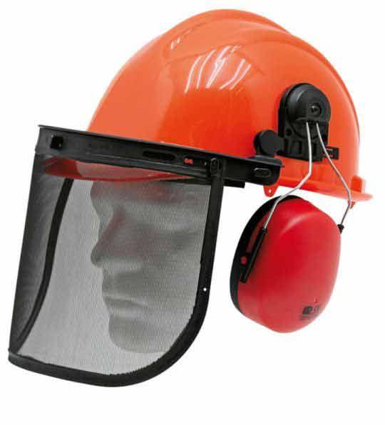 Dřevorubecké helmy