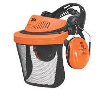 Ochranný obličejový štít ke křovinořezu PELTOR G500 a sluchátka