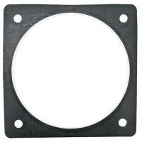 Přírubové gumové těsnění rozteč děr 150 x 150 mm