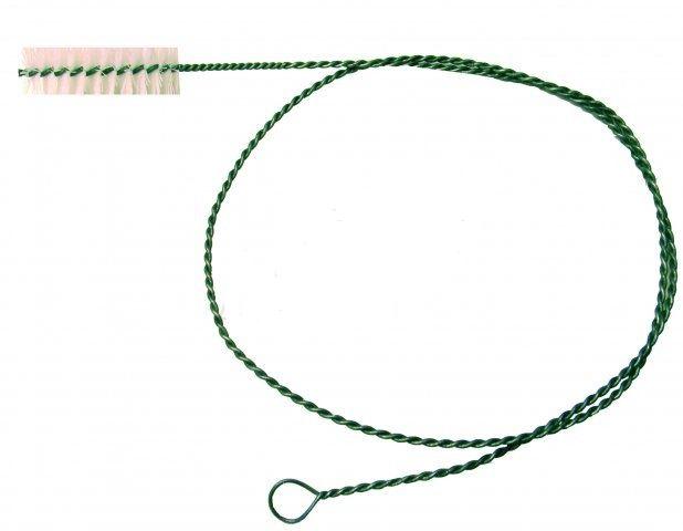 Kartáč na potrubí délka 200 cm, průměr hlavy 40 mm, délka hlavy 12 cm