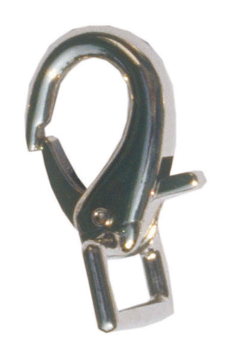 Karabina pro otěže a lonžovací brýle háčková