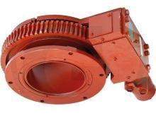 B&P otočný kloub 07-D250 hydraulicky poháněný pro šoupata na fekální vozy