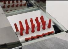 Škubačka na drůbež Piumona na škubání peří do 80 ks drůbeže za hodinu 54 prstů