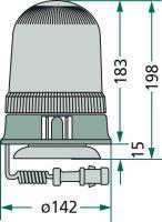 Maják magnetický 12 V