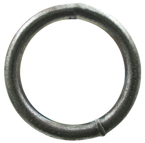 Kroužek spojovací síla 5 mm vnitřní průměr 50 mm do stájových řetězů bez povrchové úpravy