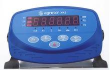 Plošinová váha Agreto 1 x 1,2 m na 2000 kg s indikátorem XK3 můstková, veterinární