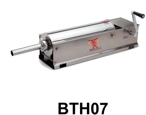 Horizontální plnička klobás BEEKETAL BTH07 na 7 l s 5 nerezovými nástavci