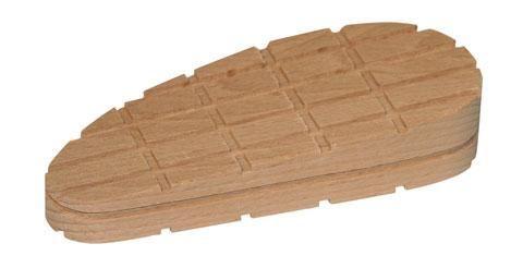 Dřevěný špalek na paznehty šikmý 130 mm velký