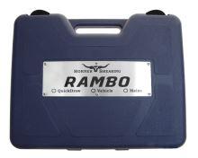 Profesionální stříhací strojek Horner Rambo QuickDraw na ovce, dobytek s baterií na opasku