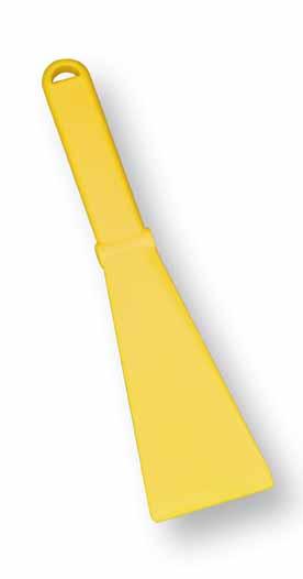 Plastová škrabka na trus na čištění kurníků, holubníků, voliér šířka 70 mm
