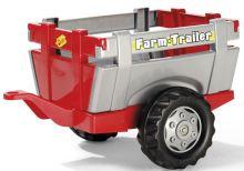 Rolly Toys - farmářský červenošedý přívěs