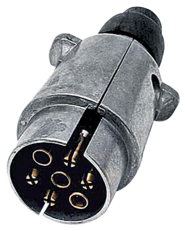 Konektor 7-pólový 12V z lehkého kovu