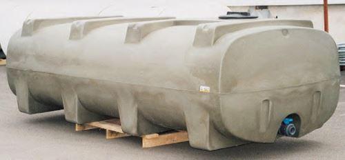 Cisterna na vodu plastová stohovatelná La Gée Monobloc 5000 l