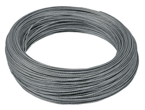 Ohradníkové ocelové lanko 1,2 mm / 200 m