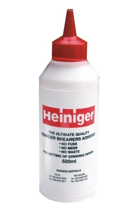 Lepidlo Heiniger latexové 500 ml na lepení brusných kotoučů na brusky